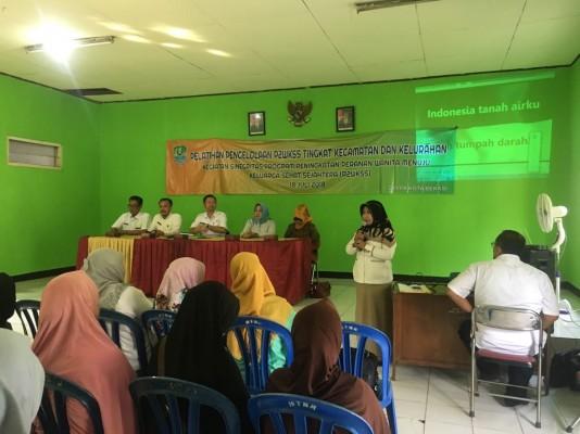 Pelatihan Pengelolaan P2wkss Tingkat Kecamatan