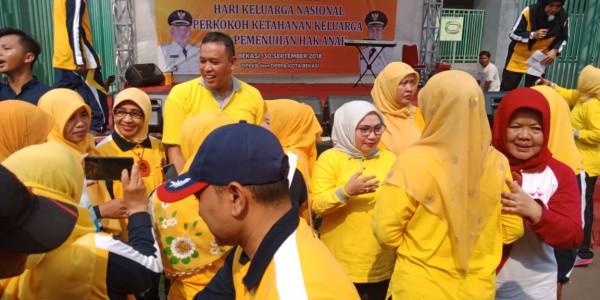 Peringatan Hari Keluarga Nasional Dan Hari Anak Tk. Kota Bekasi