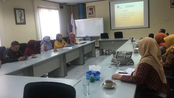 Kunjungan DPPPA Ke PT Bakrie Pipe Dalam Rangaka Monitoring Untuk Indikator APE