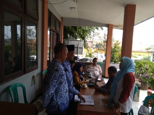 Monitoring Opsir PBB Di Kelurahan Duren Jaya