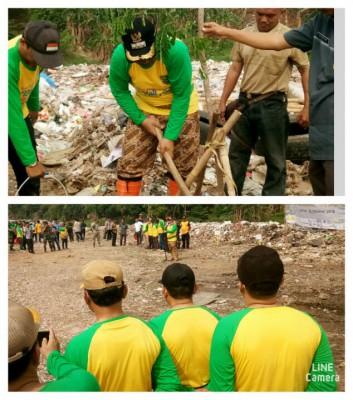 Aksi Bersih Bersih Kali Bekasi