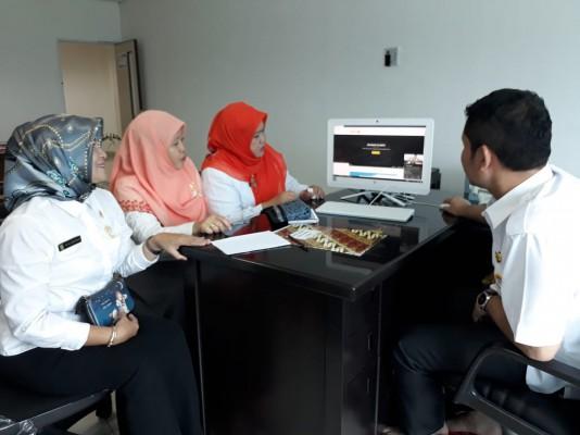 Sosialisasi Aplikasi Sikepo Pada Lingkup DPPPA