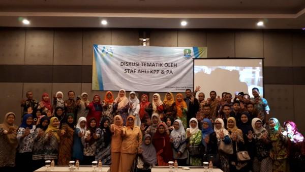 Diskusi Tematik Oleh Staff Ahli Kementerian PP&PA