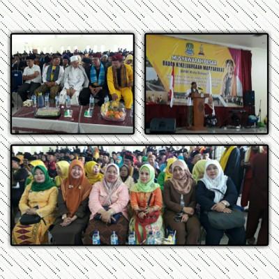 Musyawarah Besar Badan Keluargaan Masyarakat (BKM) Kota Bekasi