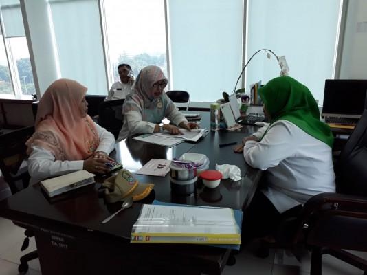 Sinergitas Dengan Kadis DPPKB Terkait Bantuan Keuangan Dari Gubernur Prov. Jawa Barat