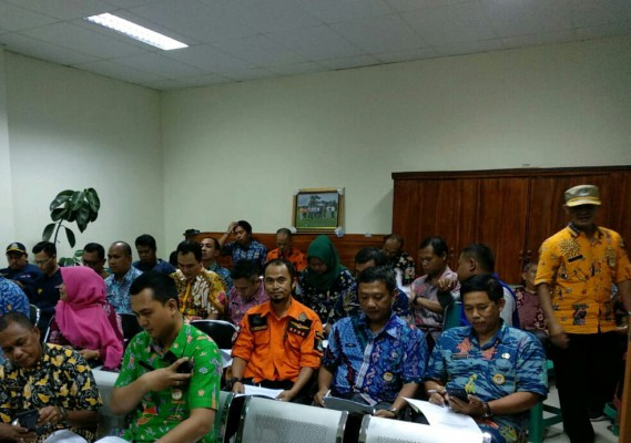 Rapat Tehnical Meeting Kegiatan PBB Dalam Rangka HUT Kota Bekasi