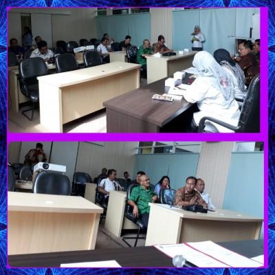 Menerima Tamu Kunjungan Dr DPRD Kab. Klungkung Bali