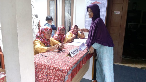 Monev Posyandu  Sariayu 6 Kel. Bantar Gebang Kecamatan Bantar Gebang