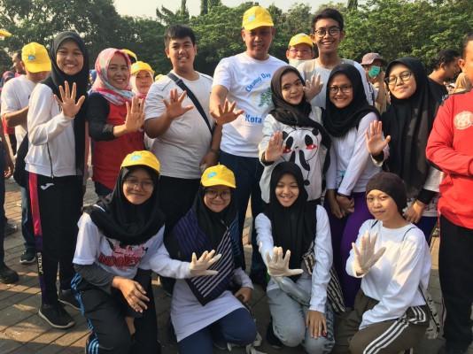 Kegiatan Word Clean Up Day Kota Bekasi