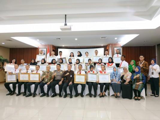 Penghargaan Kementerian PPPA  Di KemenPPPA RI