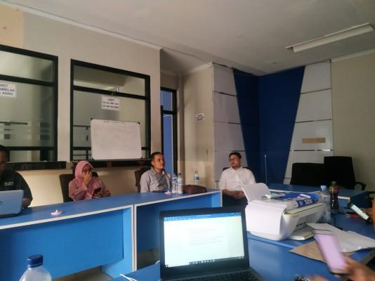 Rapat Evaluasi Penanganan Kasus