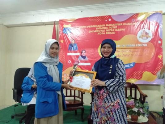 Dialog Spirit Perempuan Dalam Politik Yang Diselenggarakan Oleh PMII