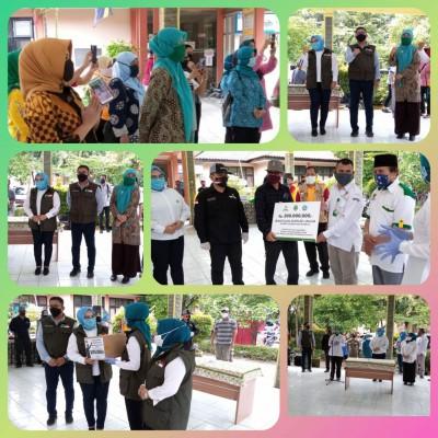 Kunjungan Istri Gubenur Jawa Barat Dlm Rangka Pelaksanaan PSBB